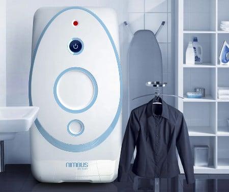 Usar CO2 en una lavadora en vez de agua