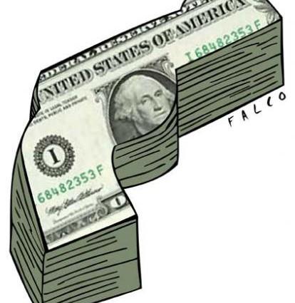 bancos dinero guerra