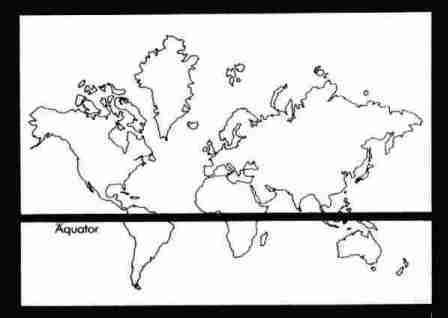 El ecuador en el Mapa Mundi Actual