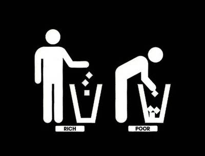 ricos_pobres basura