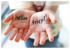 Hello Friend ayudar a los demás