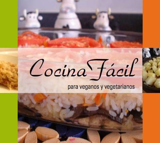 Cocina facil para veganos y vegetarianos