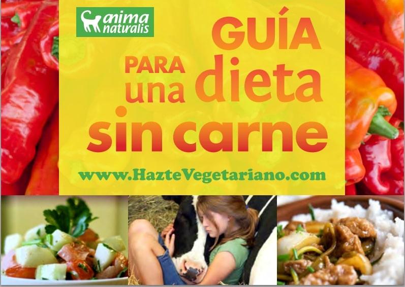 Guía para una dieta sin carne,