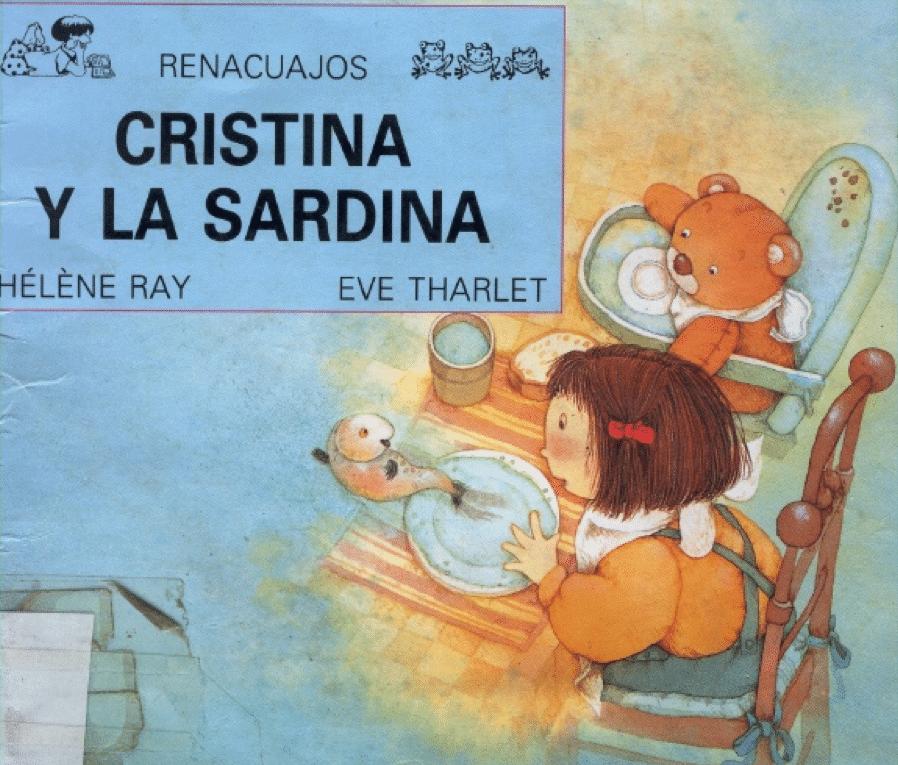 Cristina y la sardina. Hélène Ray y Ève Tharlet