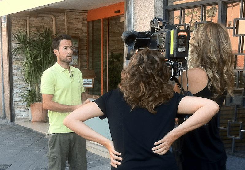 """Entrevista para la TV sobre el caso """"de la niña vegana de Italia"""""""