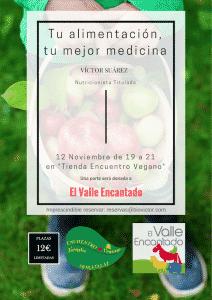 Conferencia Victor Suarez - Tu alimentacion, tu mejor medicina