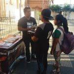 Mesa Informativa Animales Libres - Santa Cruz Bolivia 2