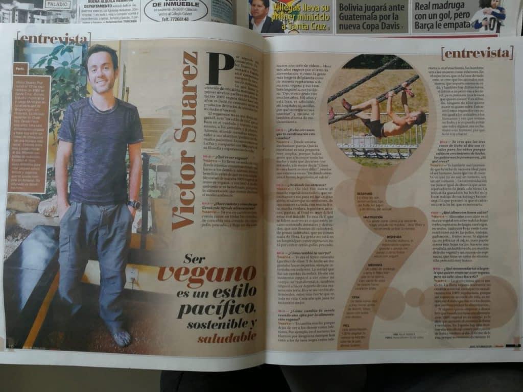 Periodico La Razon - Revista Mia 11 feb 2019