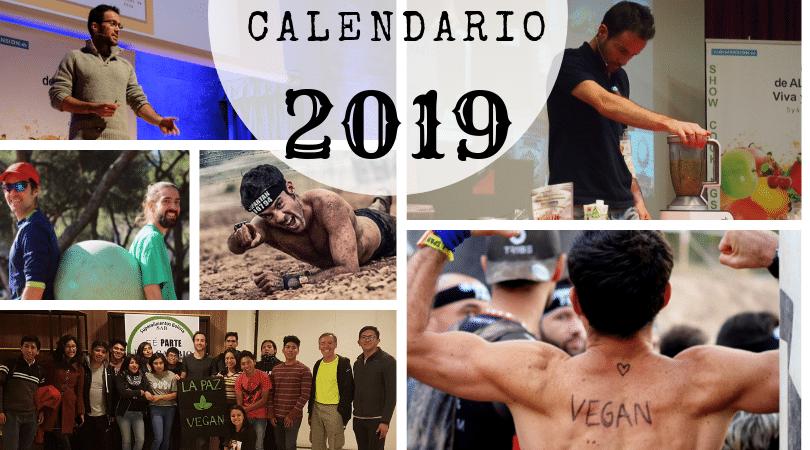 Calendario 2019 Victor Suarez