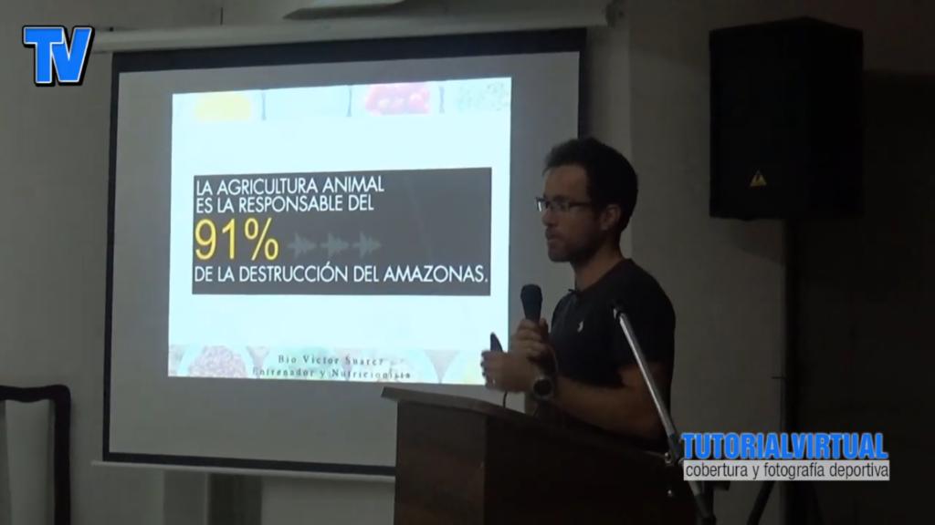 Conferencia Victor Suarez - Nutricion optima para (la vida y) el deporte Amazonas